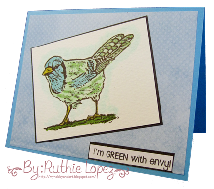 Blue Jay - Platypus Creek Digitasl - Digi stamp