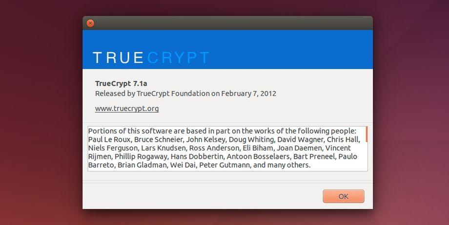 TrueCrypt info