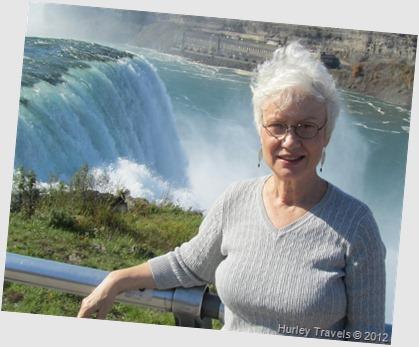 Nancy Hurley, Oct 27, 2012, Niagara Falls.