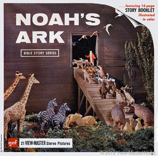 View-Master Noah's Ark (B851), packet front cover