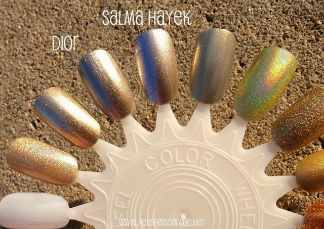 polish insomniac gold polishes