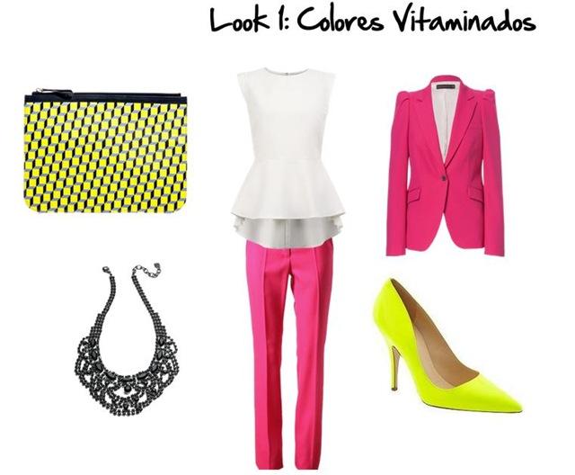 Look 1. Colores Vitaminados