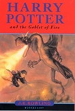 Harry Potter and the Goblet of fire paperback