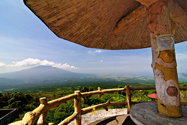 Mayon Skyline Gazebo Overlooking Albay