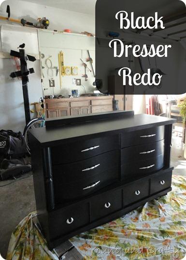 Black Dresser Redo