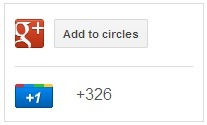 google plus page badge width