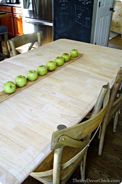 rubberwood table