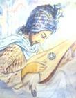 صورة متخيلة للشاعر يحي عمر اليافعي بريشة عبدالقادر السعدي