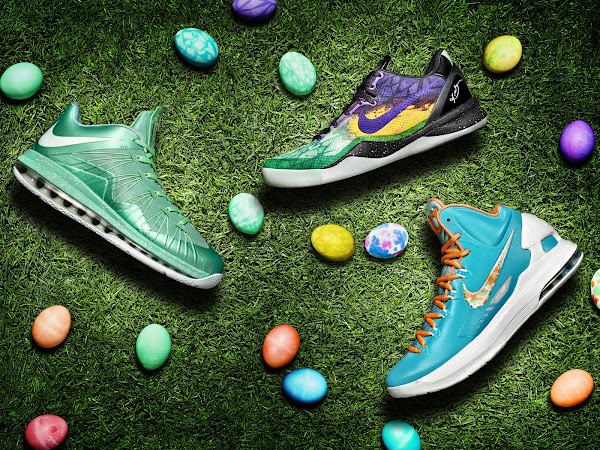 LEBRON X LOW KOBE 8 and KD V 8211 Nike Easter Collection