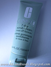 Clinique 7-day scrub, by bitsandtreats
