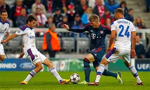CSKA Moscú vs Bayern Múnich