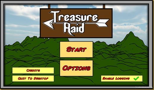 Treasure Raidタイトル
