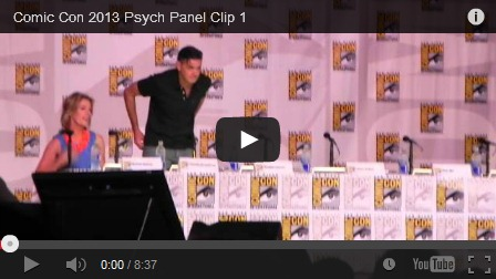 Psych full comic con panel