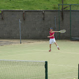 Dearbhaile Roe in action at the Junior West!