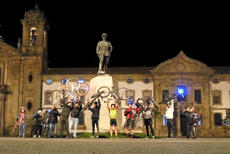 Massa Crítica Braga - fevereiro de 2015 - bikelift