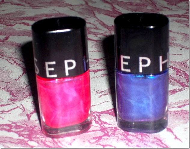 Sephora nail polishes