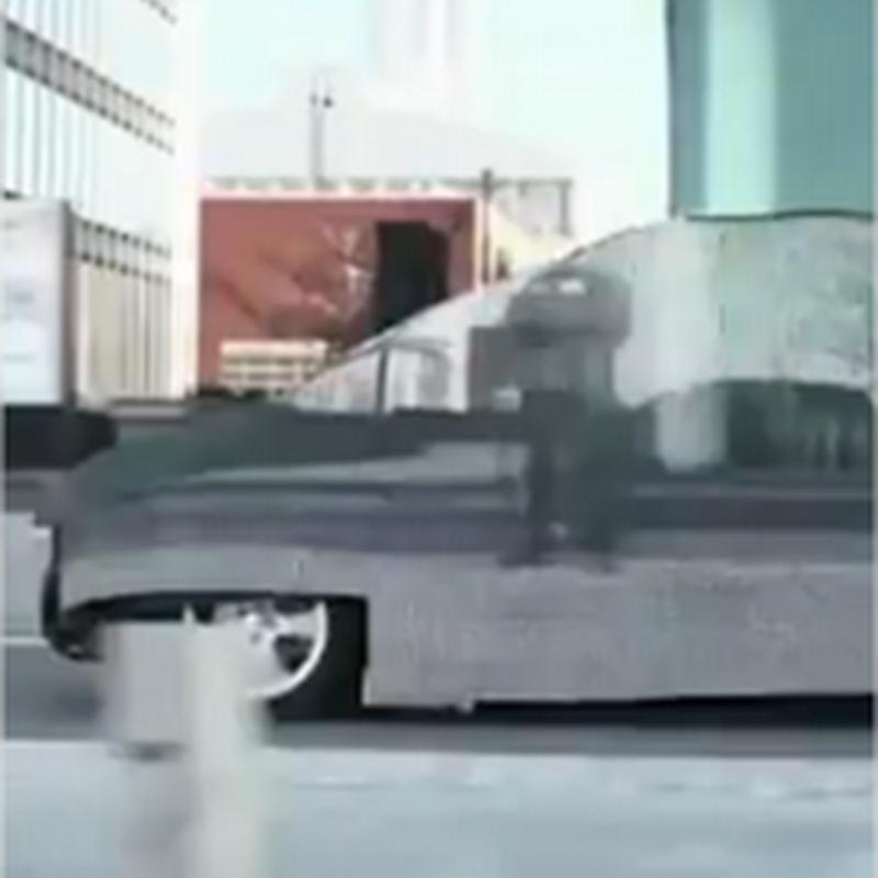 Excelente publicidad de auto invisible