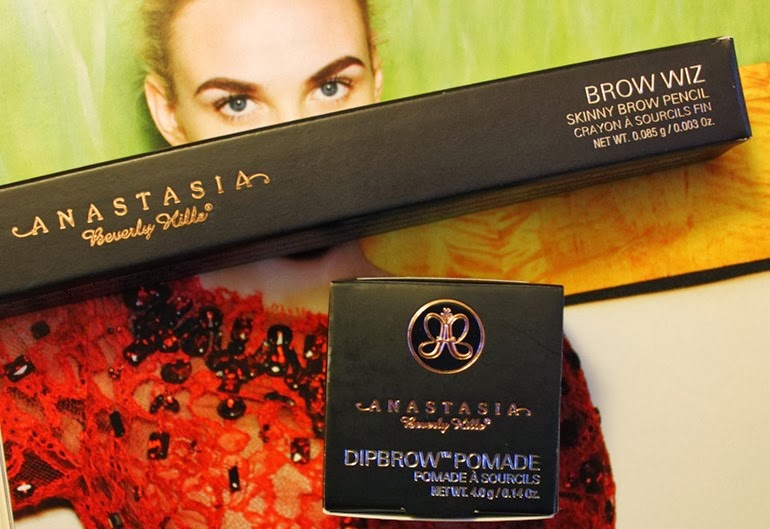 Anastasia Beverley Hills brow wiz and dipbrow pomade