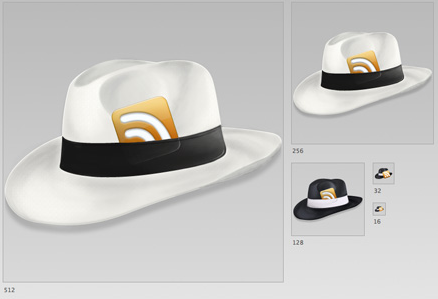 hats rss icons