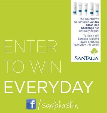 santalia skin challenge