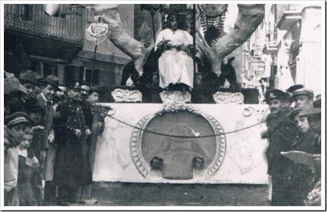 Valencia en en Fallas años 30