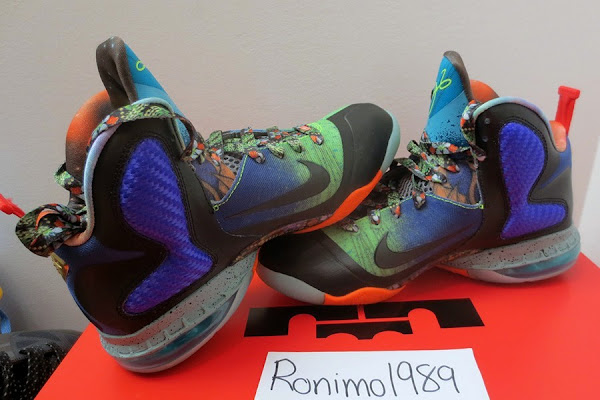 Predecessor of NIKE LEBRON X MVP 8211 8220What the8221 LeBron 9
