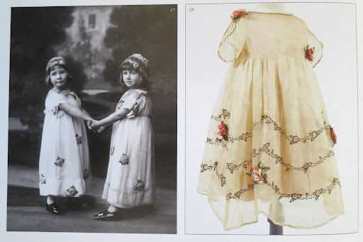 Inspiration for the flower girls' dresses.