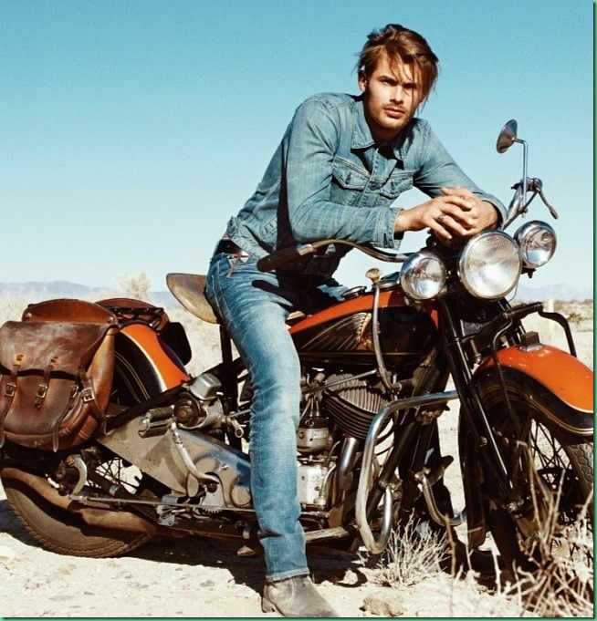 Jacey Elthalion for Guess Jeans F/W 13