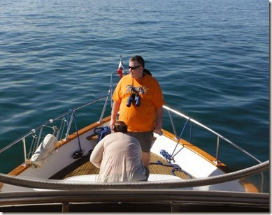 Colin Saviya looking for whales