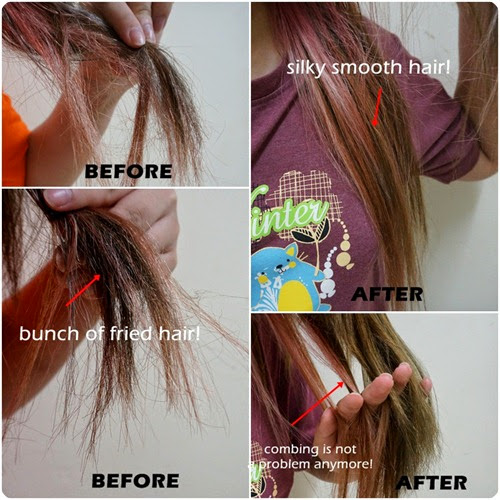 solution for bleached hair 1