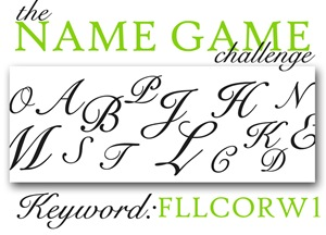 The Name Game Challenge Graphic
