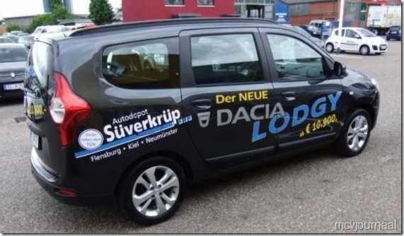 Dacia Lodgy  Duitsland 04
