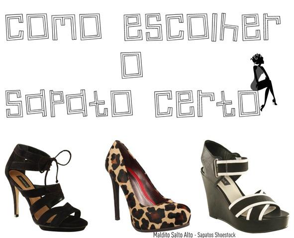 Como escolher o sapato