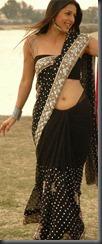 boomika-in-black saree