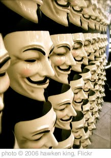 'V for Vendetta' photo (c) 2006, hawken king - license: http://creativecommons.org/licenses/by/2.0/