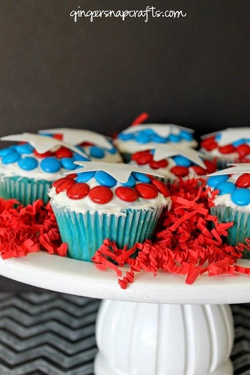 Captain America party ideas #shop