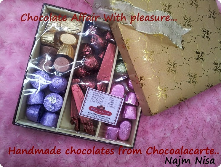 Chocoalacarte hand made chocolates