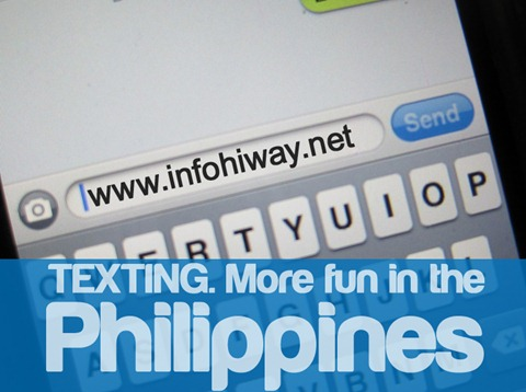Texting More fun in the Philippines