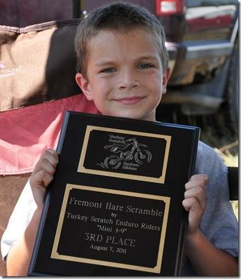 Fremont Ben, 3rd Place