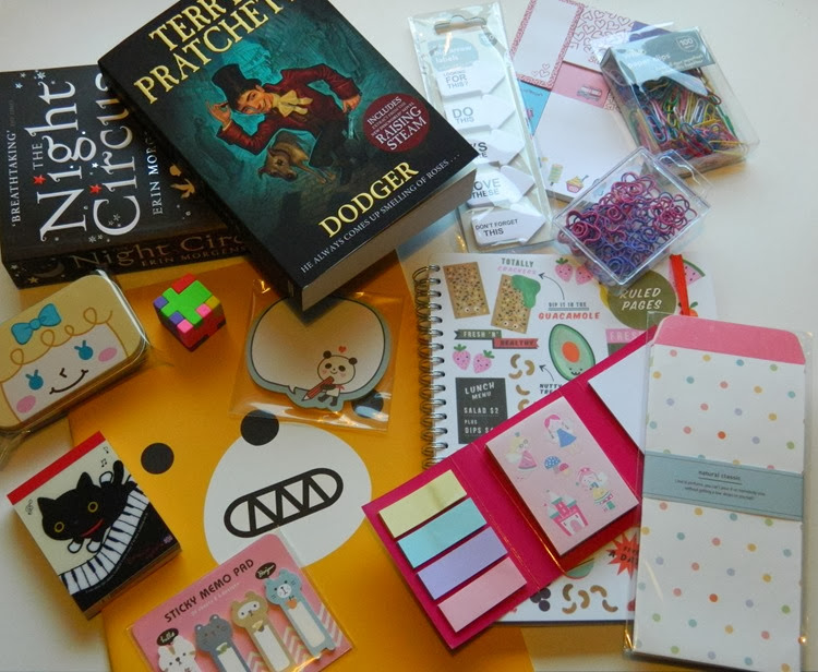 Stationery Haul Artbox Paperchase