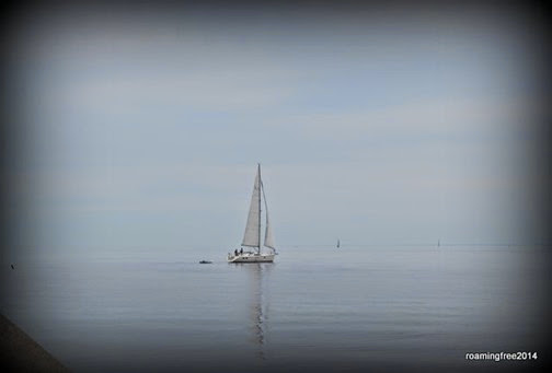 Sailboat on Lake Superior