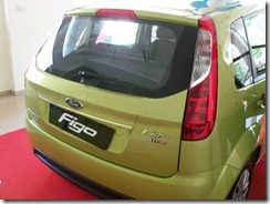 Ford Figo Petrol rear