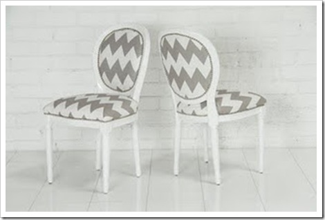 cadeiras chevron