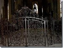 2005.08.19-042 grilles du choeur de l'église Saint-Ouen