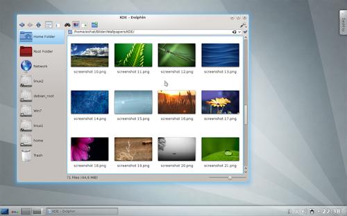 KDE SC 4.8.4 e 4.9 beta 1