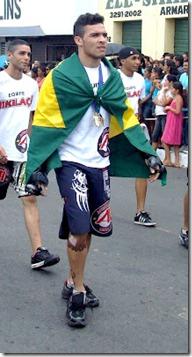 O lutador Ciro Badboy,