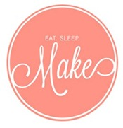 eat sleep make logo