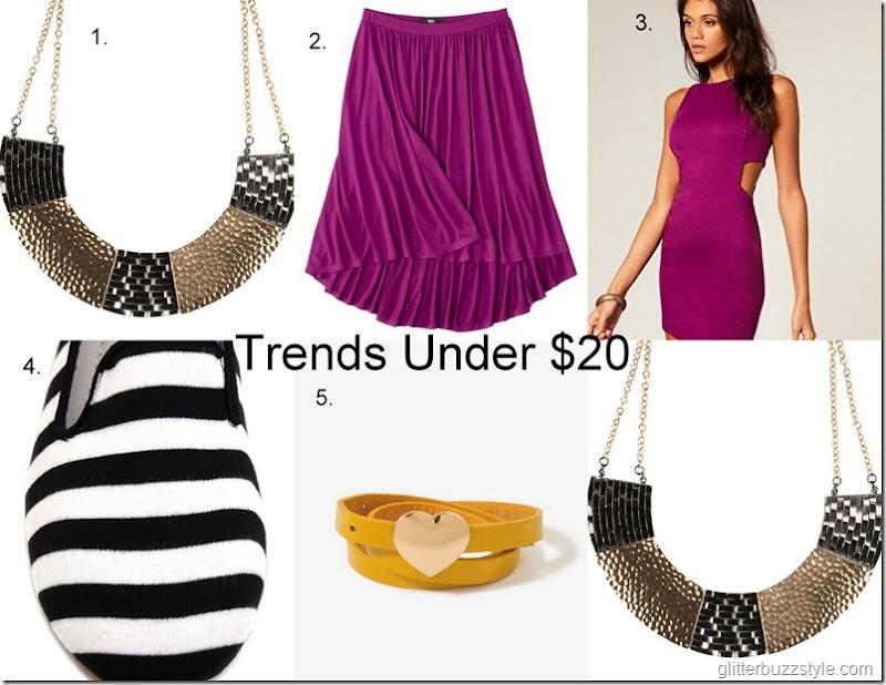 Trends under $20
