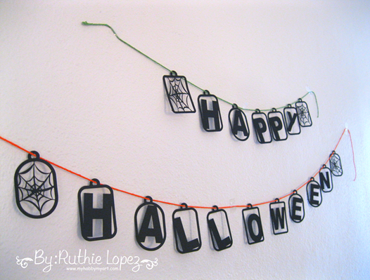 SnapDragon Snippets. Happy Halloween Banner. Ruthie Lopez 1a