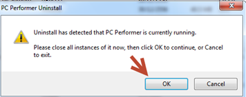 How to remove pc performer
